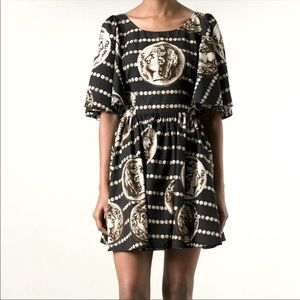 Dolce&Gabanna bell sleeve dress